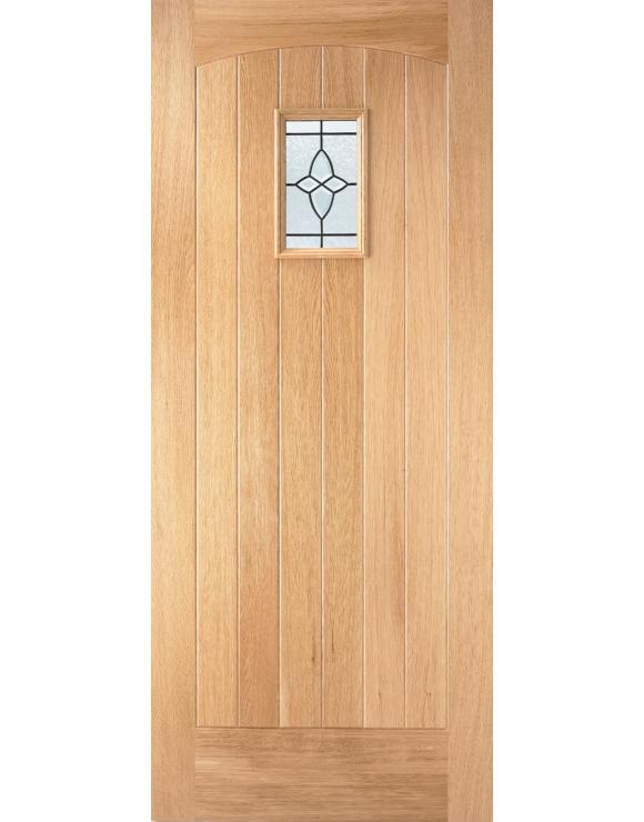 Cottage Oak Exterior Door image