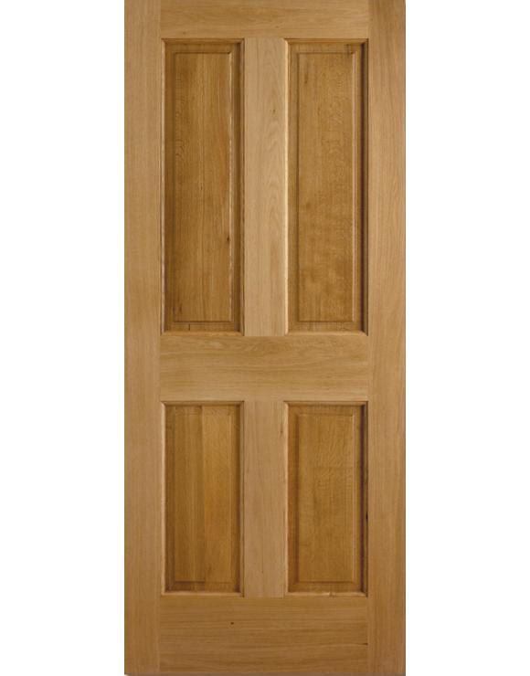 Colonial 4P Oak Exterior Door image