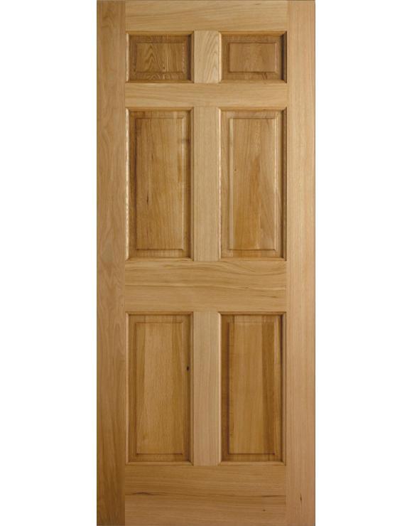 Colonial 6P Oak Exterior Door image