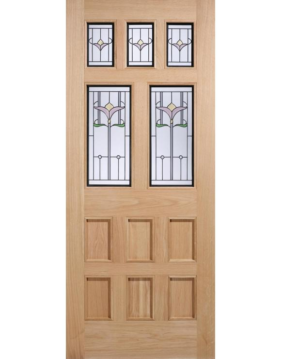 Knightsbridge Oak Exterior Door image