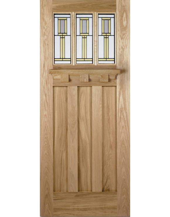Tuscany Florence Oak Exterior Door image