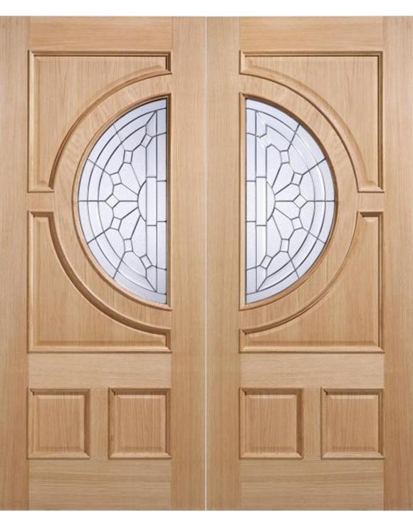 Empress Oak Entrance Door image