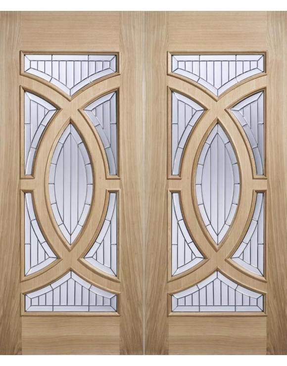 Majestic Oak Entrance Door image