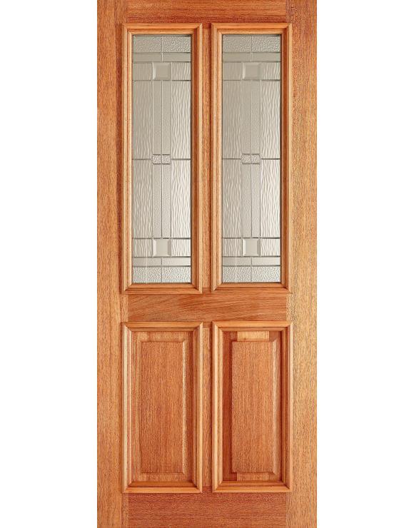 Derby Elegant Hardwood Exterior Door image