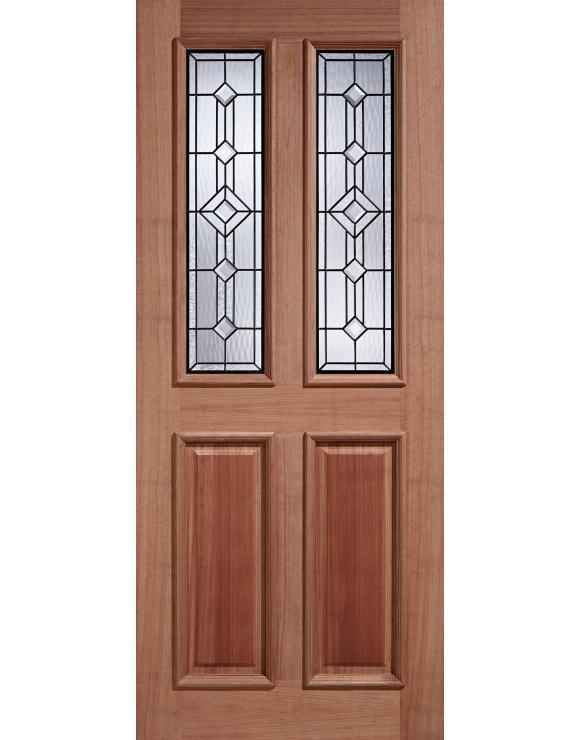 Derby Leaded Hardwood Exterior Door image