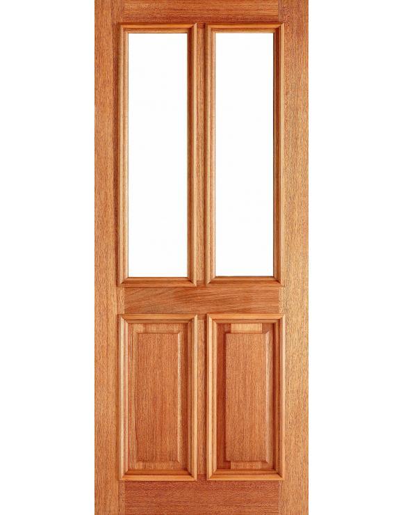 Derby Unglazed Hardwood Exterior Door image