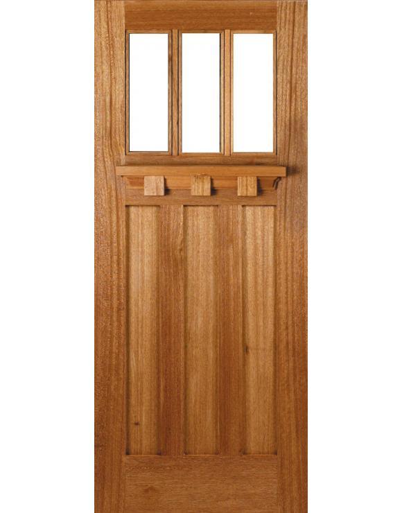 Tuscany Unglazed Hardwood Exterior Door image