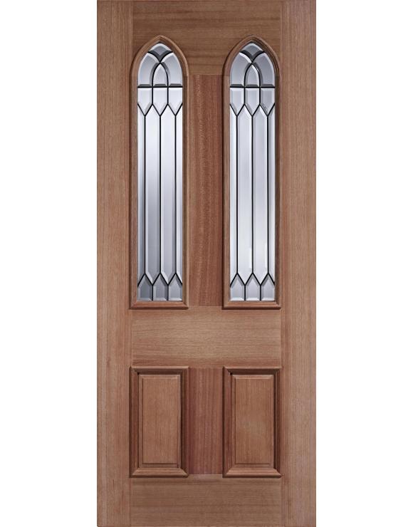 Gothic Hardwood Exterior Door image