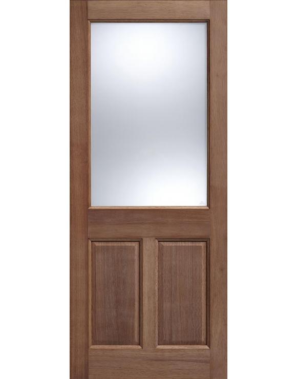2XG 2P Glazed Hardwood Exterior Door image
