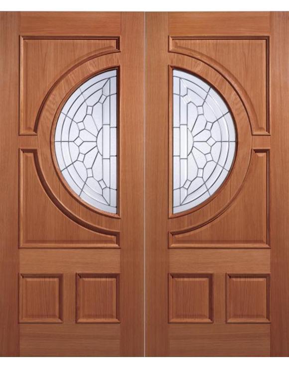 Empress Hardwood Entrance Door image
