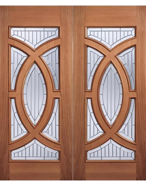 Majestic Hardwood Entrance Door image