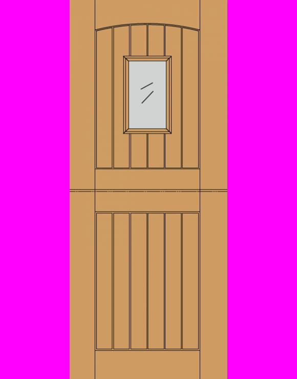 Stable 1L M&T Hardwood Exterior Door image