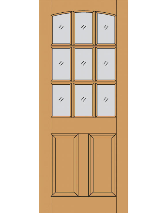 Georgia M&T Hardwood Exterior Door image