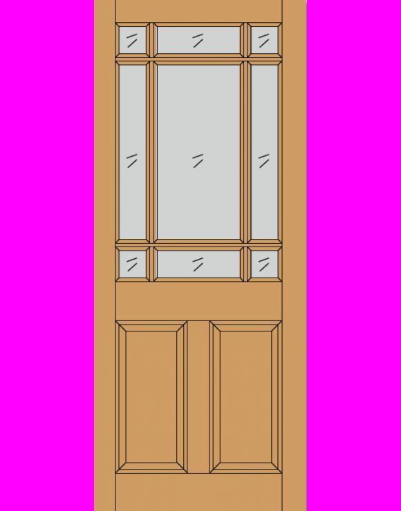 Warwick M&T Hardwood Exterior Door image