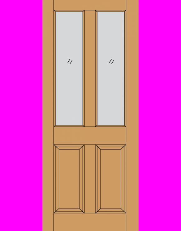Malton Dowel Hardwood Exterior Door image