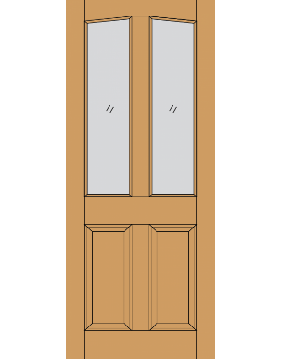 Richmond M&T Hardwood Exterior Door image