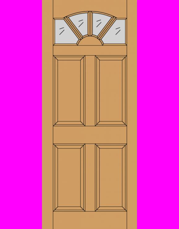 Carlisle M&T Hardwood Exterior Door image