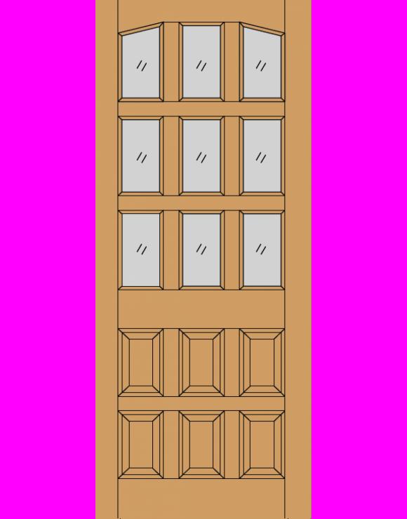 Alicante M&T Hardwood Exterior Door image