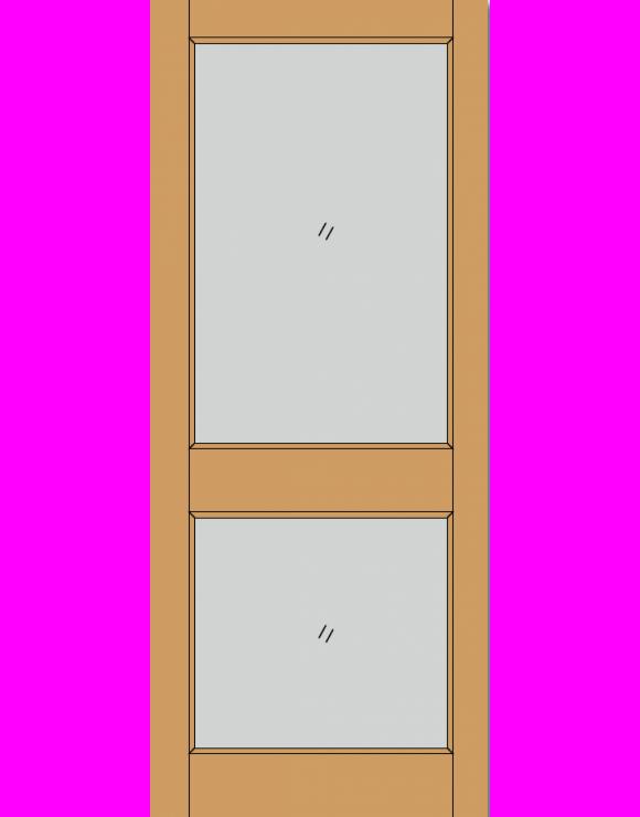2XGG Dowel Hardwood Exterior Door image