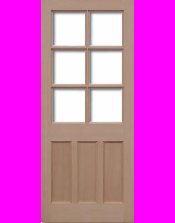 KXT Hemlock Unglazed Exterior Door image