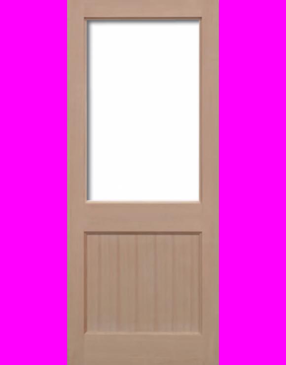2XG Hemlock Unglazed Exterior Door image