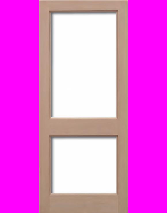 2XGG Hemlock Unglazed Exterior Door image