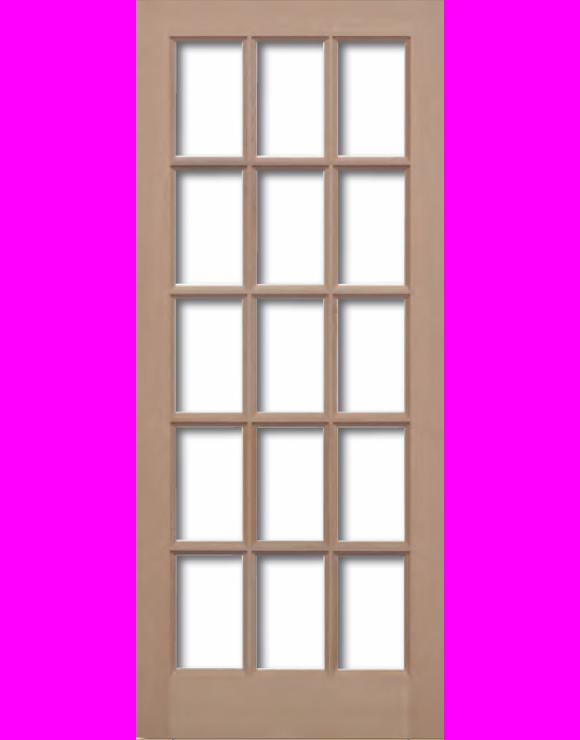 SA Hemlock Unglazed Exterior Door image