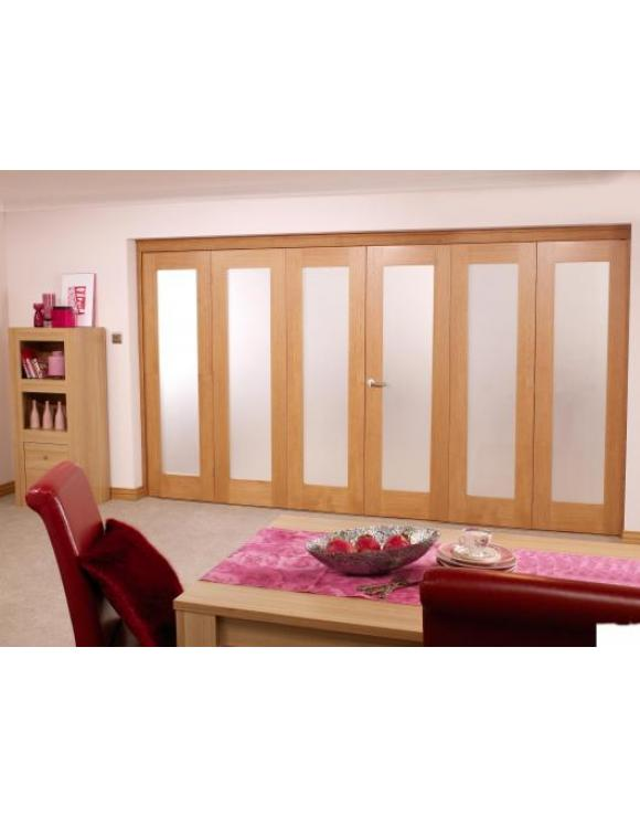 NUVU Roomfold Interior Oak Frame Set 3+3 image
