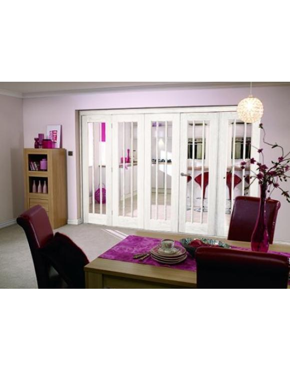 NUVU Roomfold Interior Oak Frame Set 4+1 image