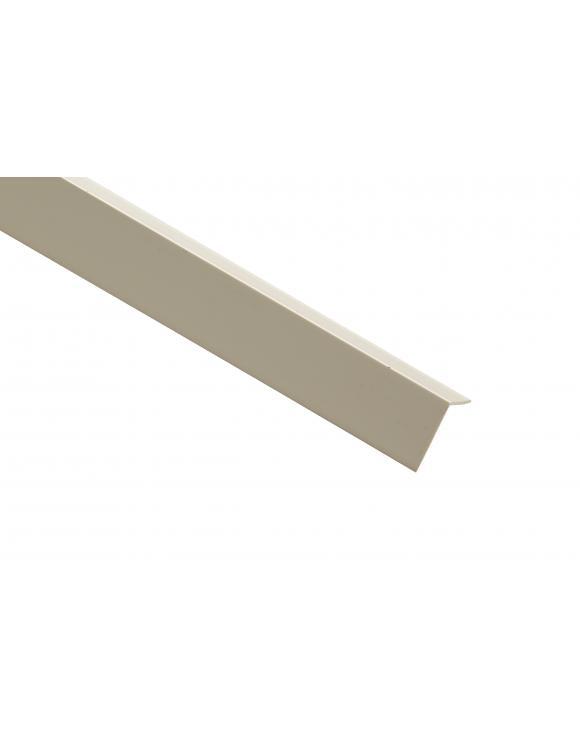 White PVC Plastic External Angle image