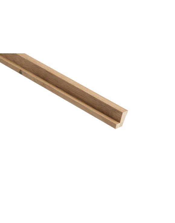 Red Hardwood Firecheck Hockey Stick image