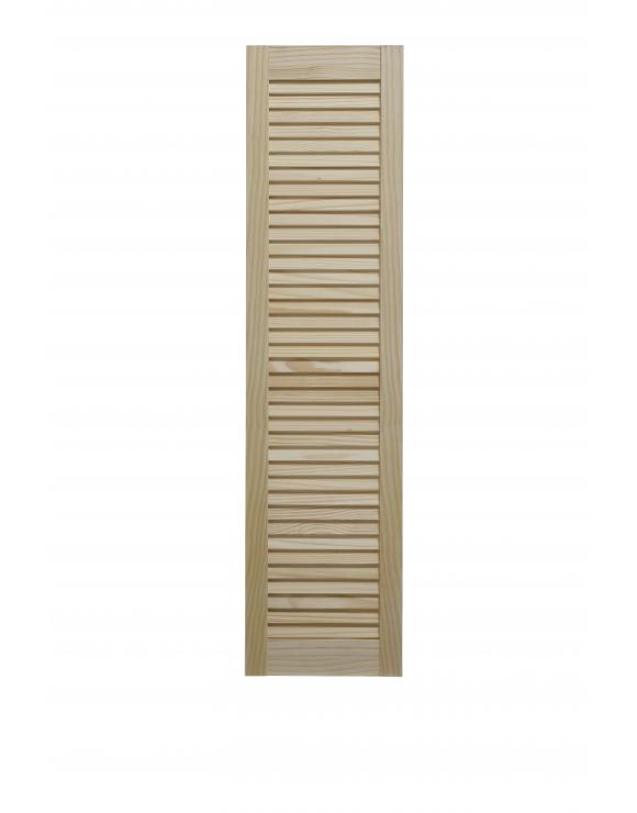 "Pine Open Louvre Door 48"" High image"