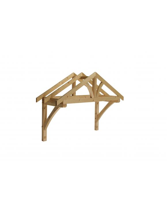Softwood Apex Porch Canopy 1560mm Wide image