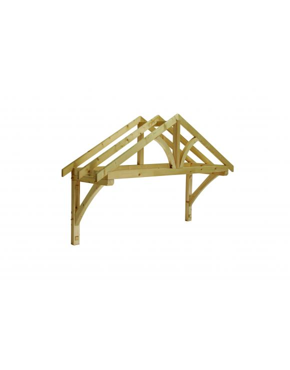 Softwood Apex Porch Canopy 1960mm Wide image