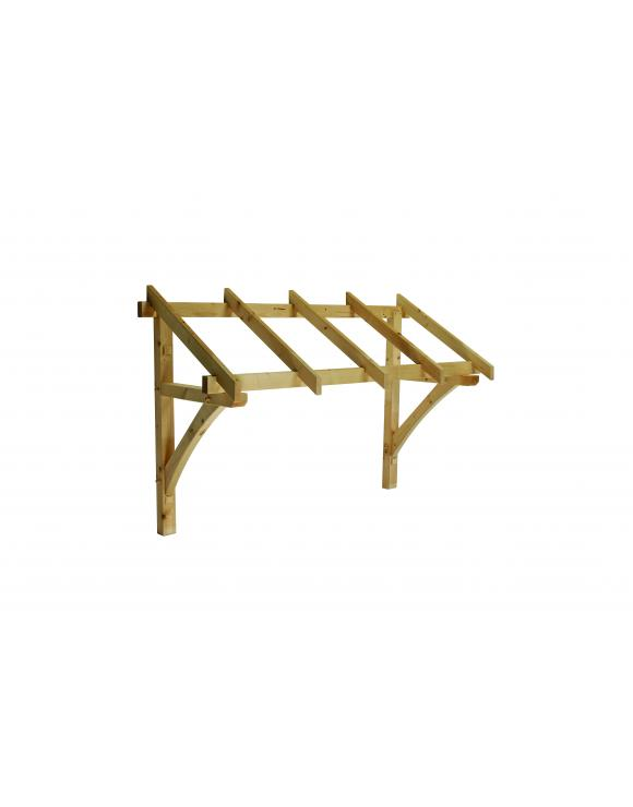 Softwood Pent Roof Porch Canopy 1736mm Wide image