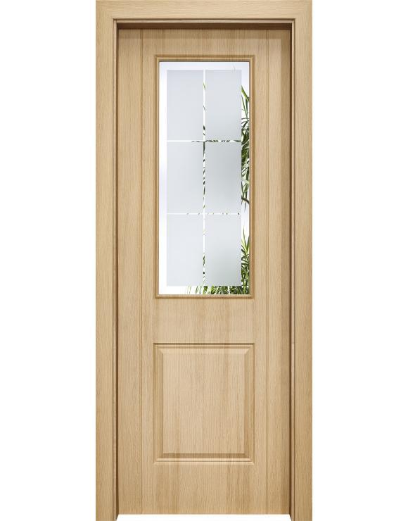 Medina Ledro Oak Interior Doorset image