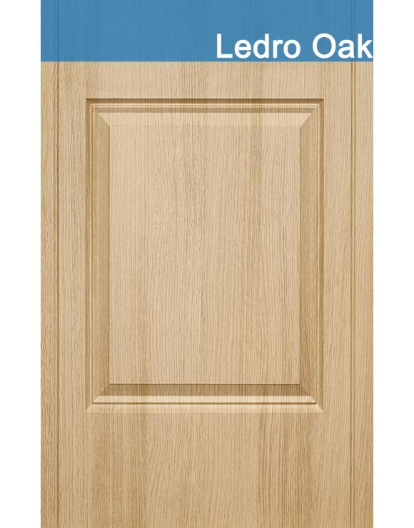 Valletta Ledro Oak Interior Doorset image