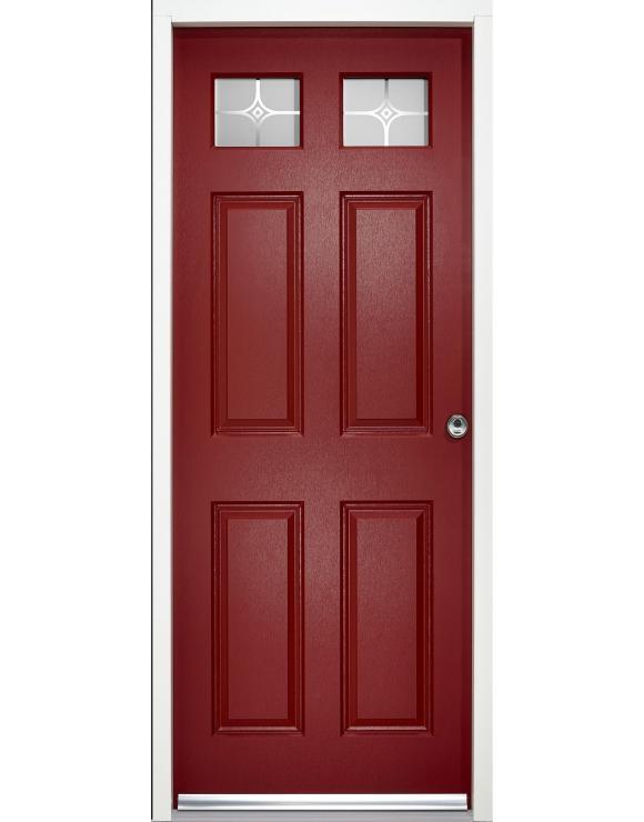 Colonial Top Light Exterior Doorset image
