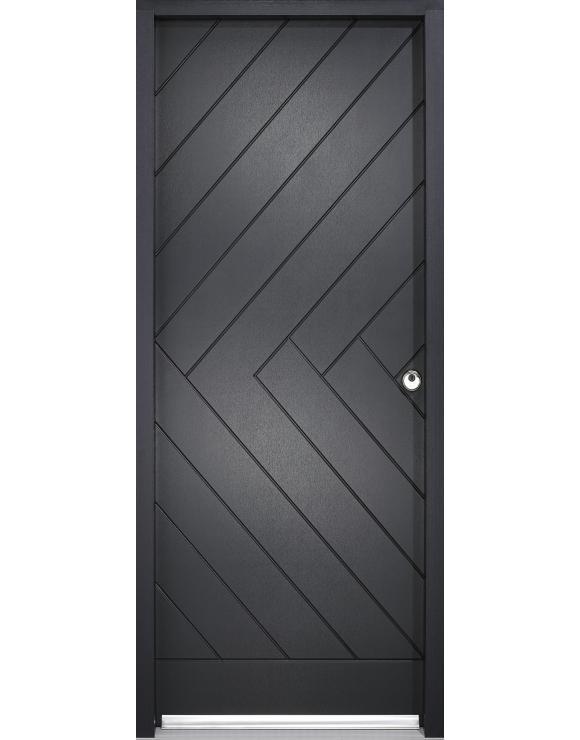 Chevron Exterior Doorset image