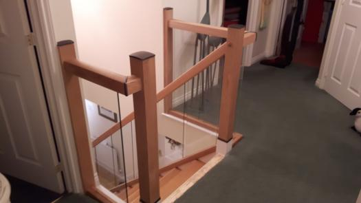 Top of stairs review