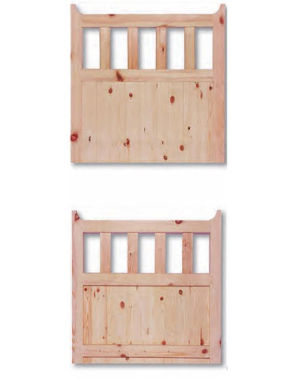 600 Gate Redwood Exterior Door image