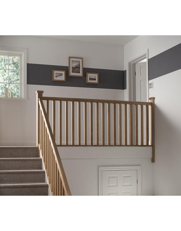Simplicity Budget Stair Square Newel Post 82mm select Full or Half Post image