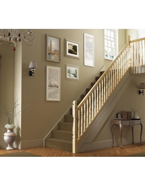 90mm Provincial Square Stair Newel Post image