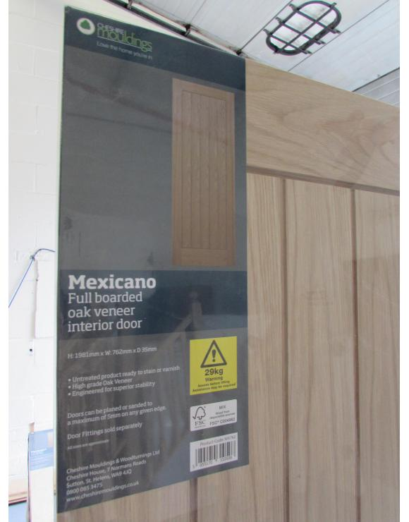 Promotional Oak Mexicano Internal Door image