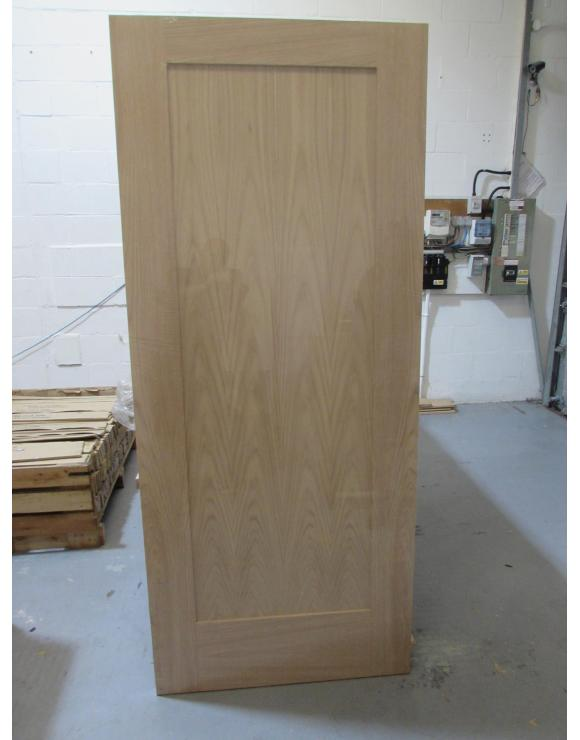 Oak 1 Panel Internal Door image