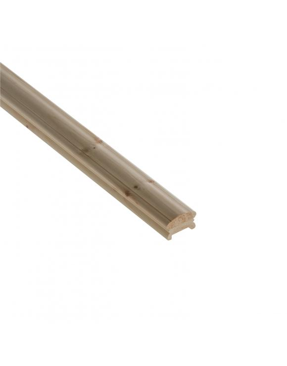 41mm Low Profile Hand Rail Select Length and Timber image