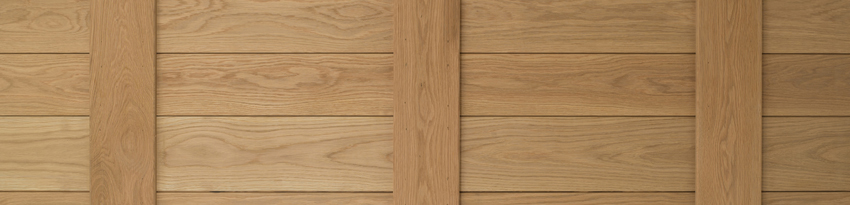Prime Grade Oak panels may contain sound knots and slight grain variation.