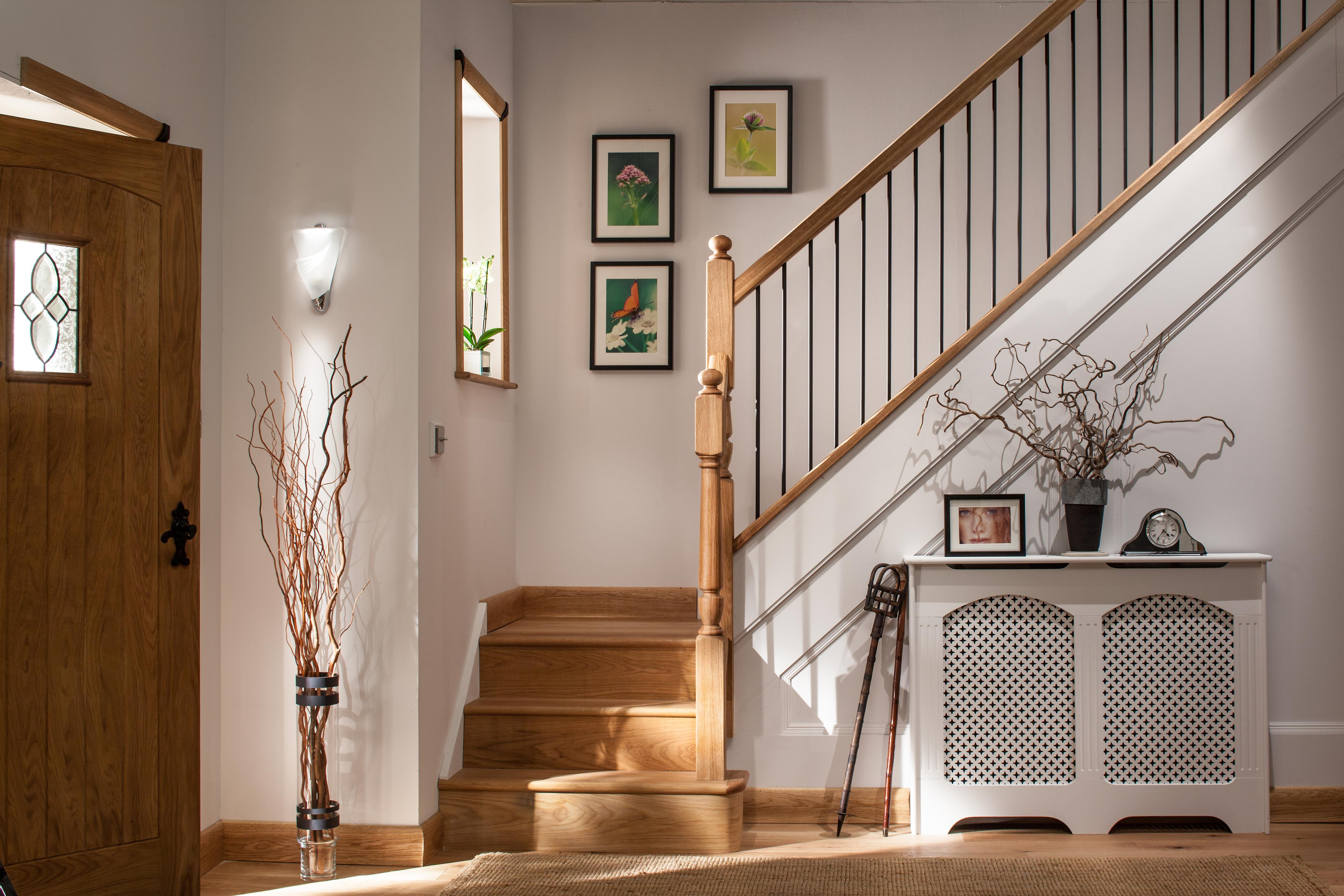 ... Contemporary Black Iron Plain Round Stair Spindle Image