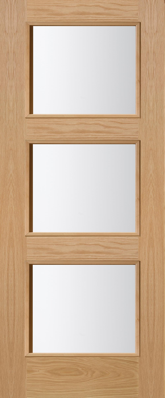 Brienz 3l oak glazed interior door blueprint joinery brienz 3l oak glazed interior door image planetlyrics Images