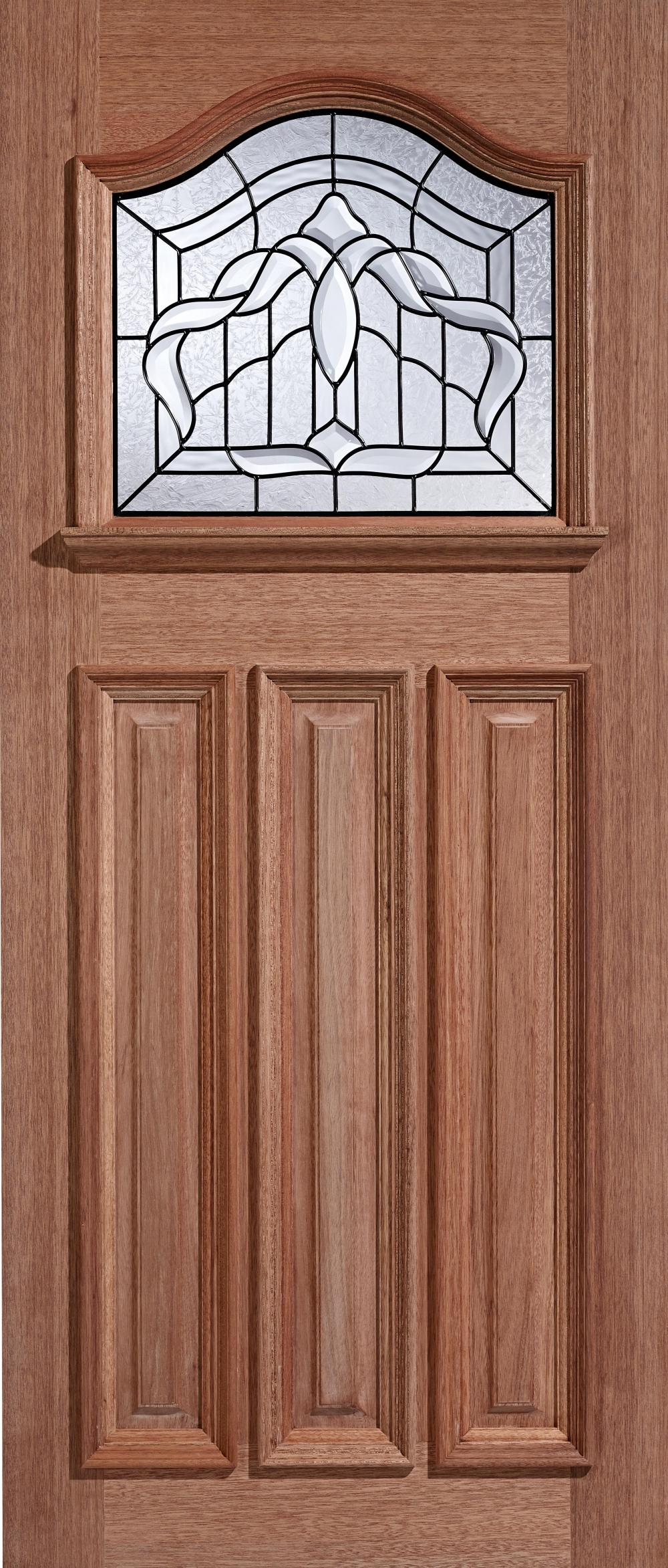 Estate crown hardwood exterior door blueprint joinery for Hardwood entrance doors